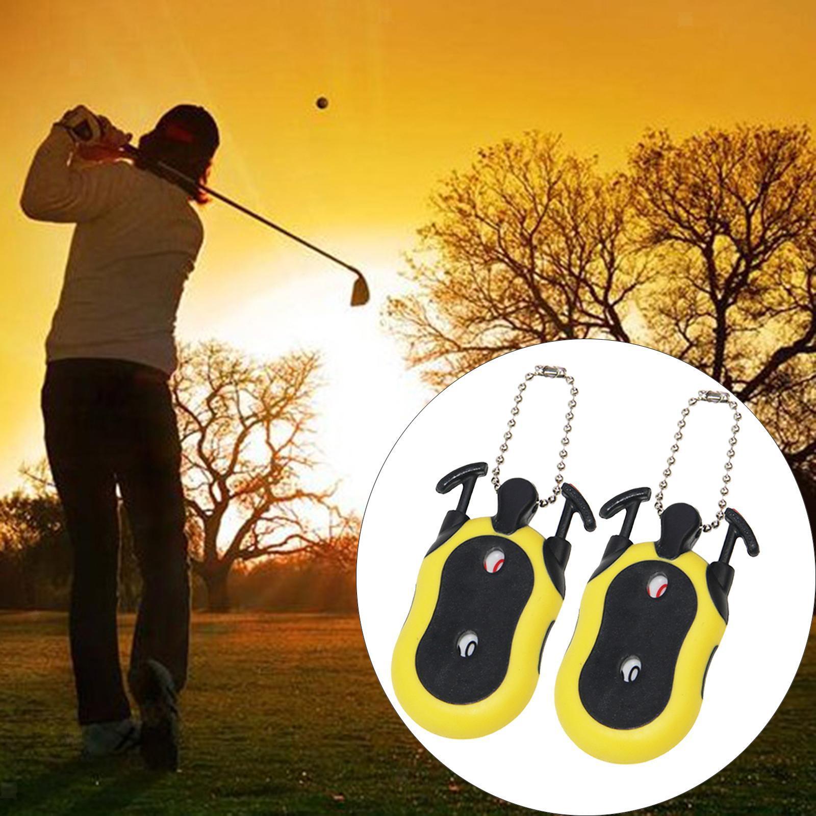 Indexbild 37 - 2 Stück Golf Score Zähler 2-in-1 Double Dial Stroke Putt Scorer mit