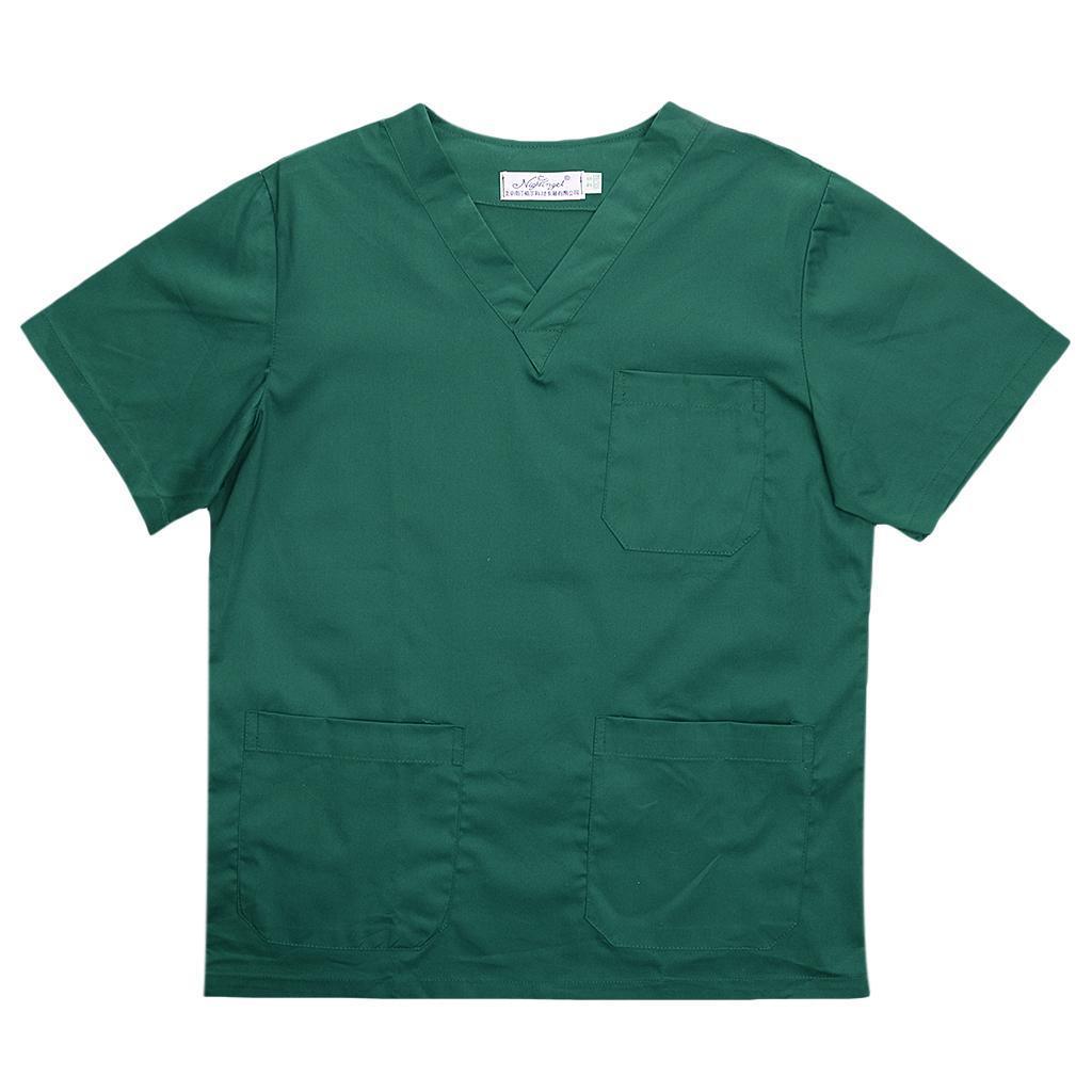 Men-Women-Scrub-Sets-Medical-Spa-Nursing-Clinic-Hospital-Uniform-Top-Pants miniature 49