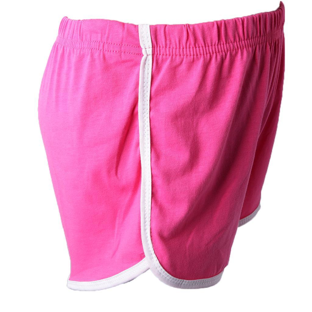 Women-Teen-Girls-Yoga-Running-Workout-Shorts-Athletic-Elastic-Waist thumbnail 3
