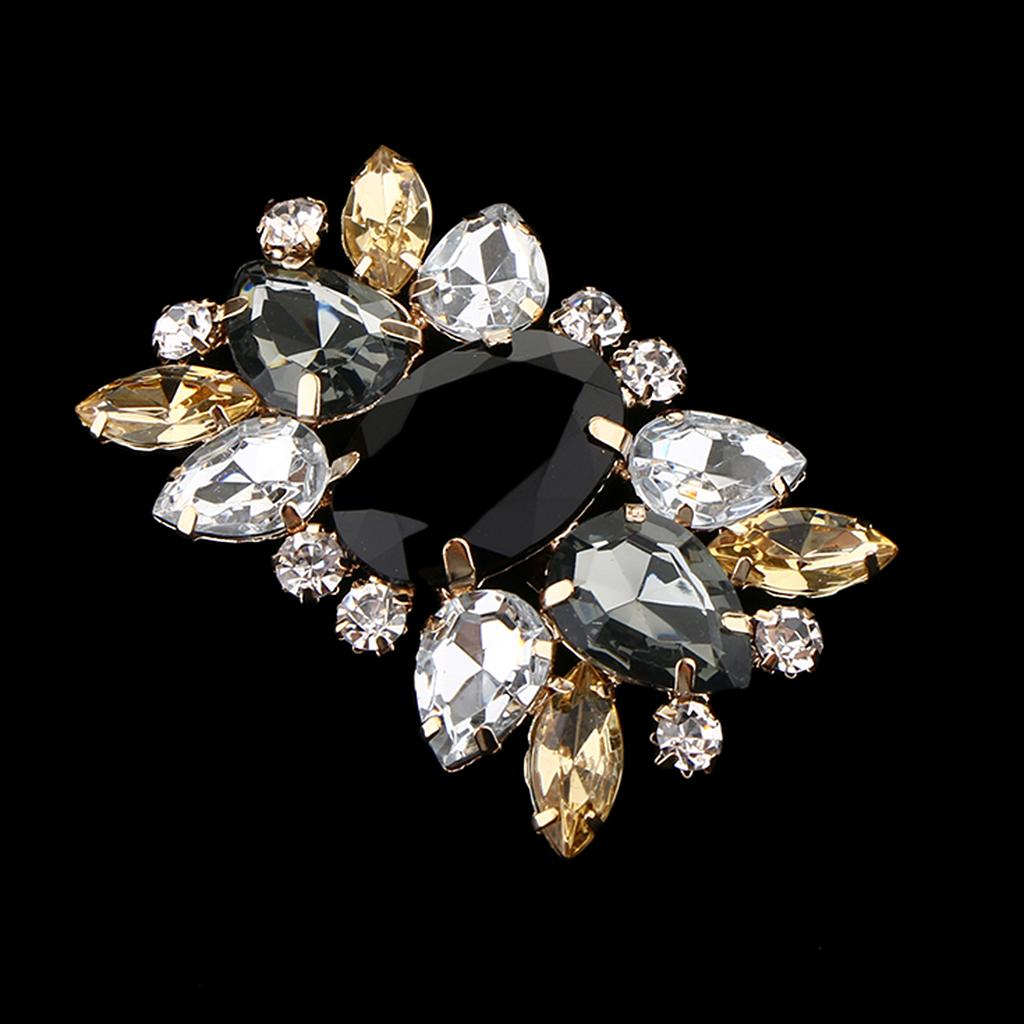 Crystal Shoe Clips DIY Weddings High Heel Shoes Buckle Clip Prom Shoe Charms