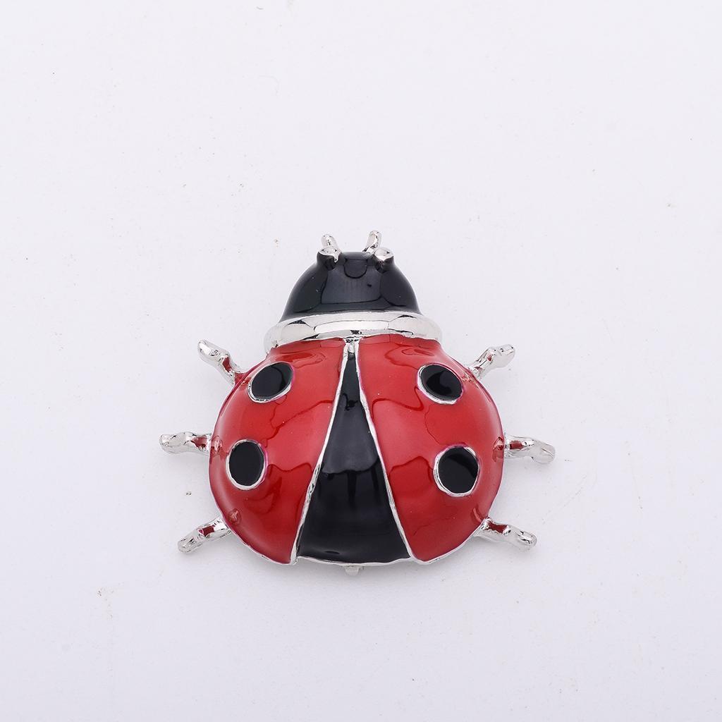 1Stk Damen Insekt Tier Legierung Hochzeitsfeier Brosche Anstecknadel 29mm x 26mm