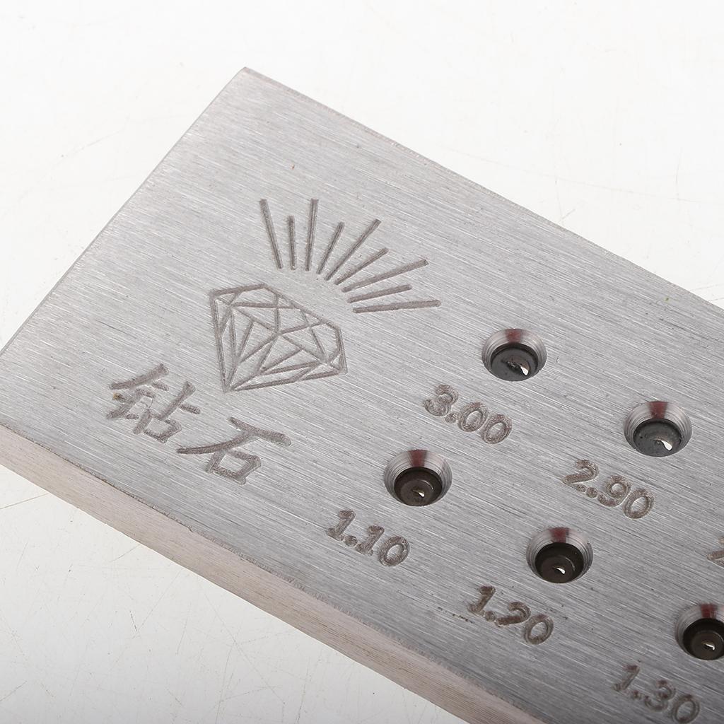 Ziehplatte-Rundloch-Wolframcarbid-Ziehplatte-Runddrahtziehen-Juweliere Indexbild 6