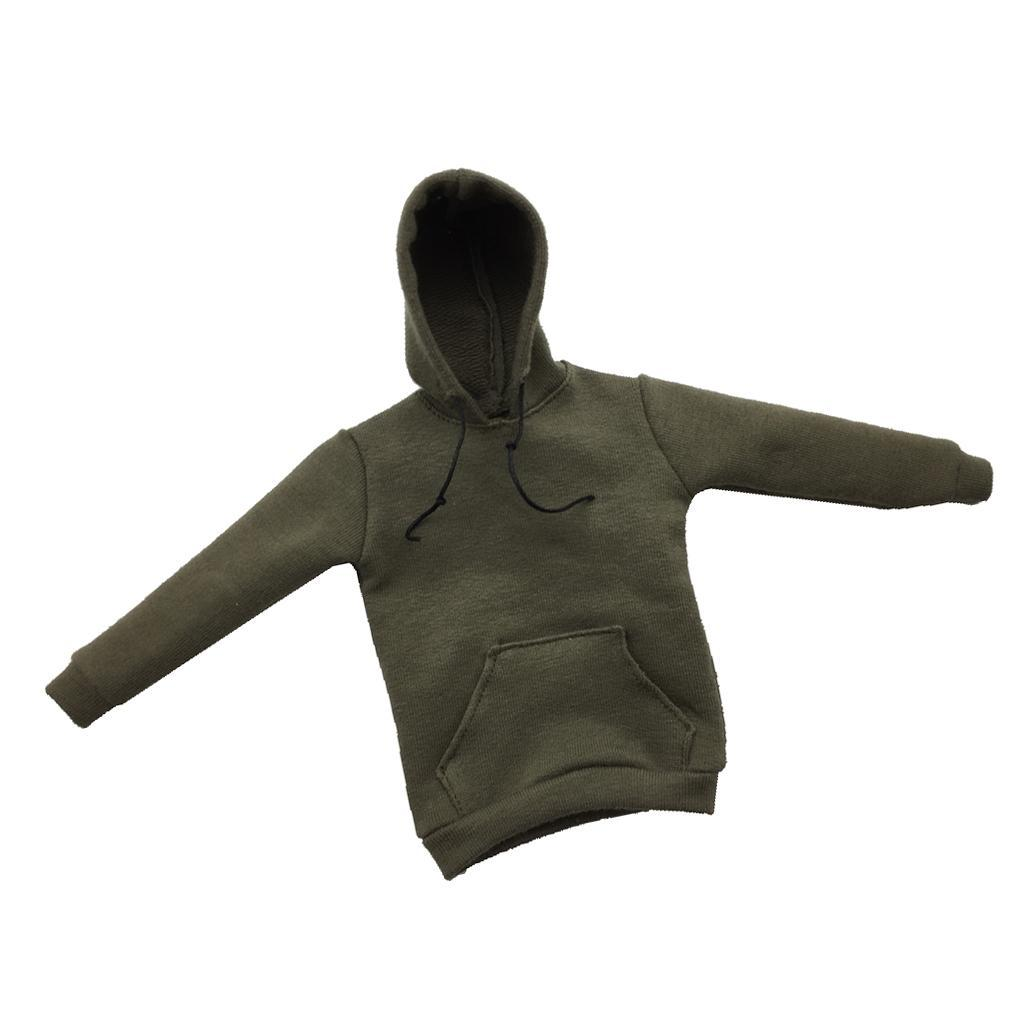 1-6-Scale-Jacket-Hoodie-T-shirt-Jeans-Accessories-for-12-039-039-Figure-Hot-Toys miniature 5