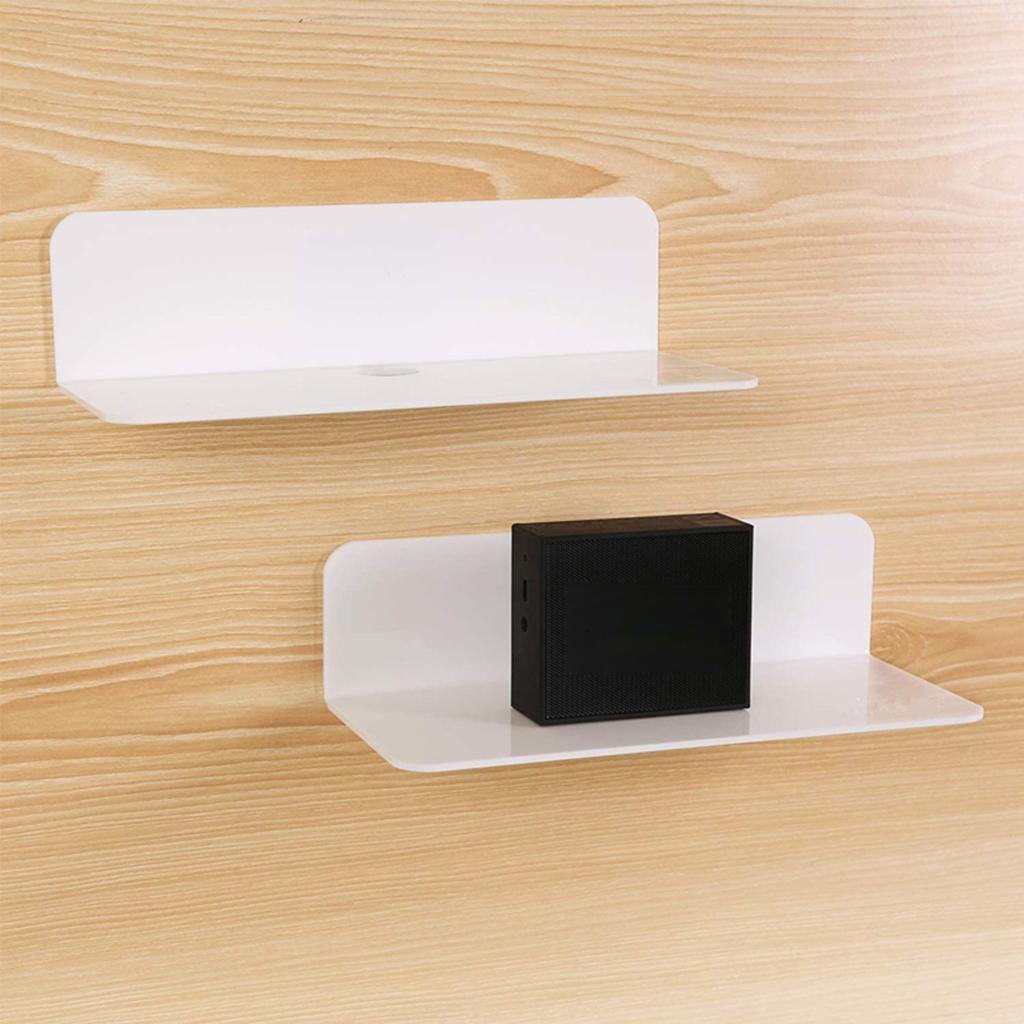 Estante-de-pared-flotante-de-acrlico-soporte-de-exhibicin-extrable-para-altavoce miniatura 16