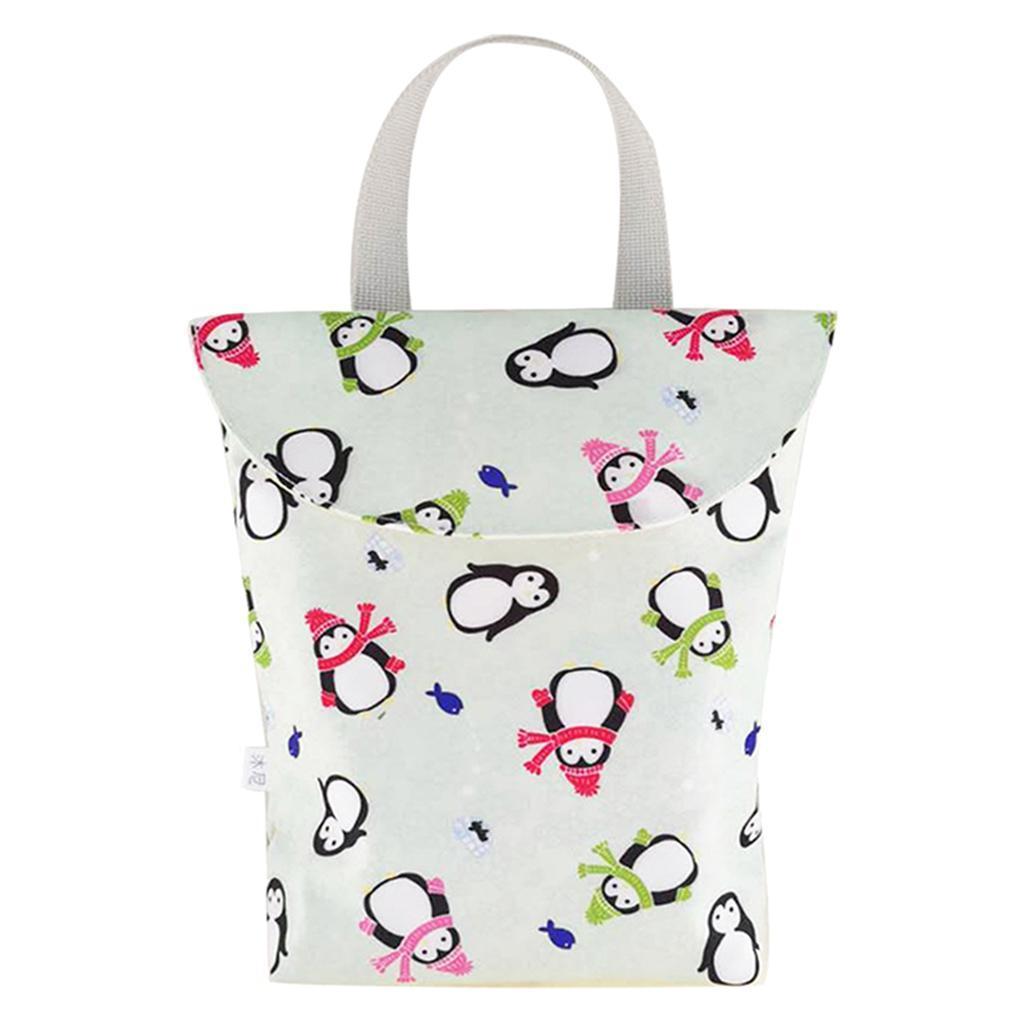 Baby-Diaper-Bag-Organizer-Fashion-Prints-Mummy-Storage-Bag-Outdoor-Reusable miniature 16