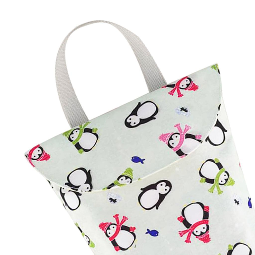 Baby-Diaper-Bag-Organizer-Fashion-Prints-Mummy-Storage-Bag-Outdoor-Reusable miniature 17