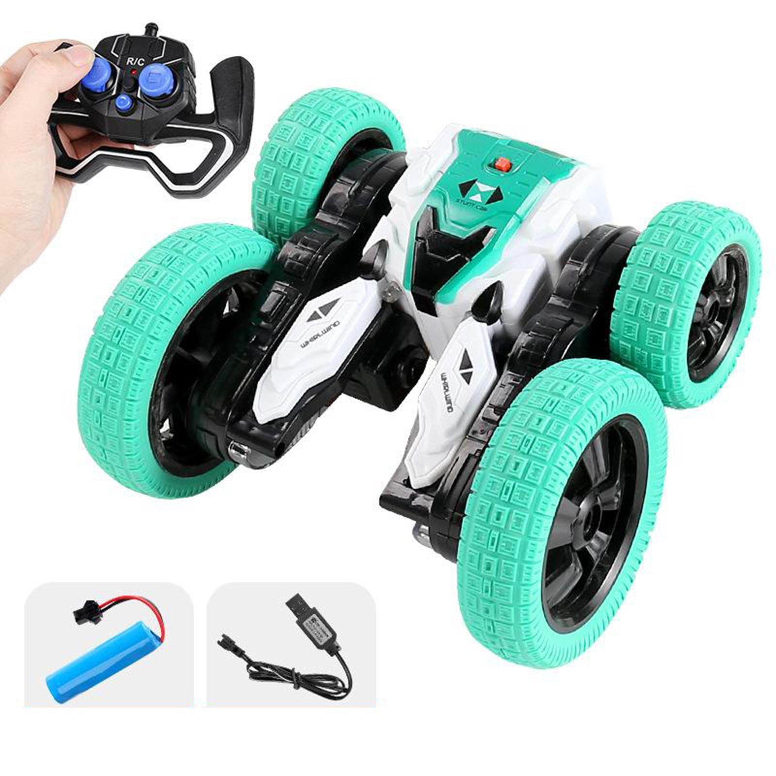 miniatura 24 - Telecomando Auto Stunt Car Giocattolo Per Bambini 2.4GHz di Controllo Remoto