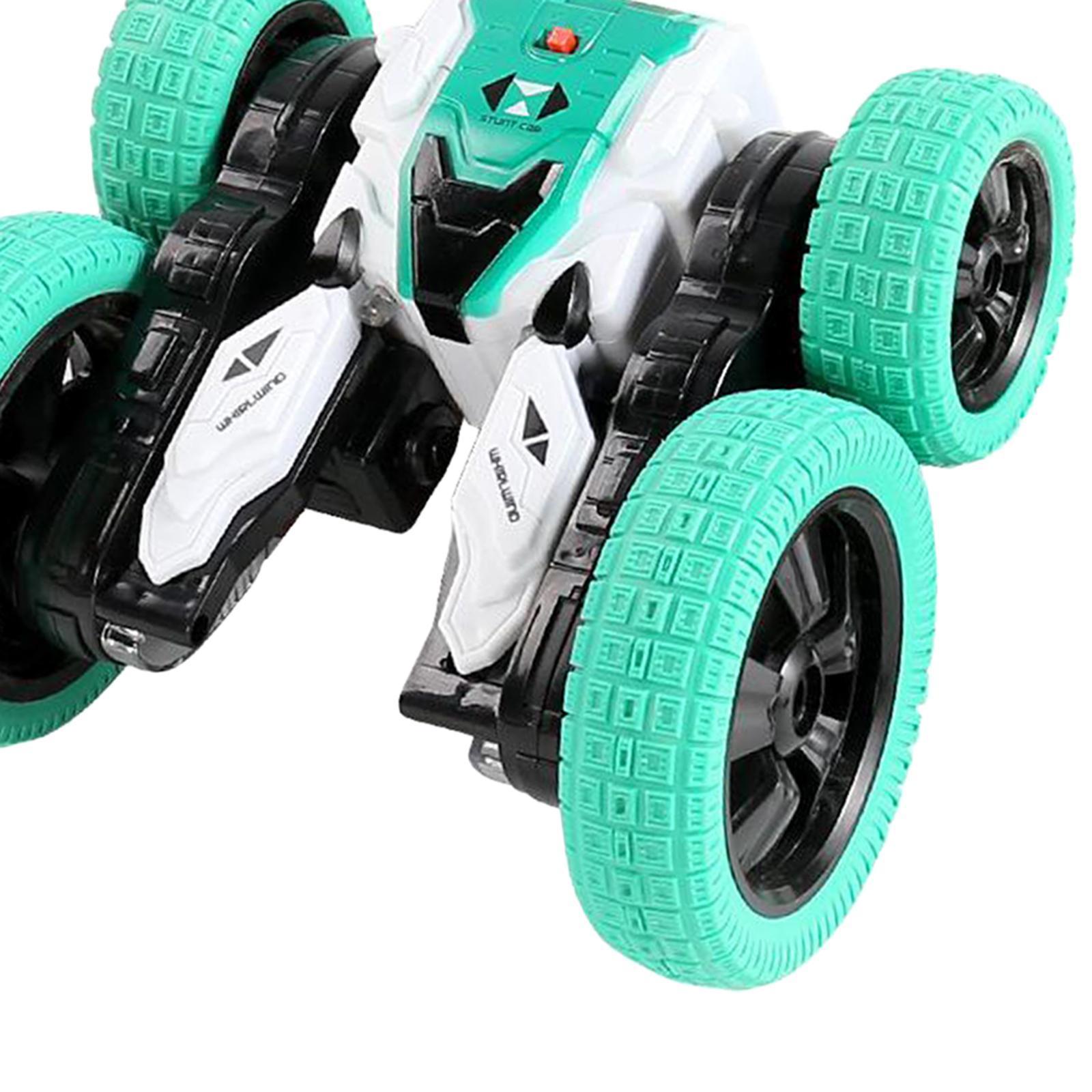 miniatura 28 - Telecomando Auto Stunt Car Giocattolo Per Bambini 2.4GHz di Controllo Remoto