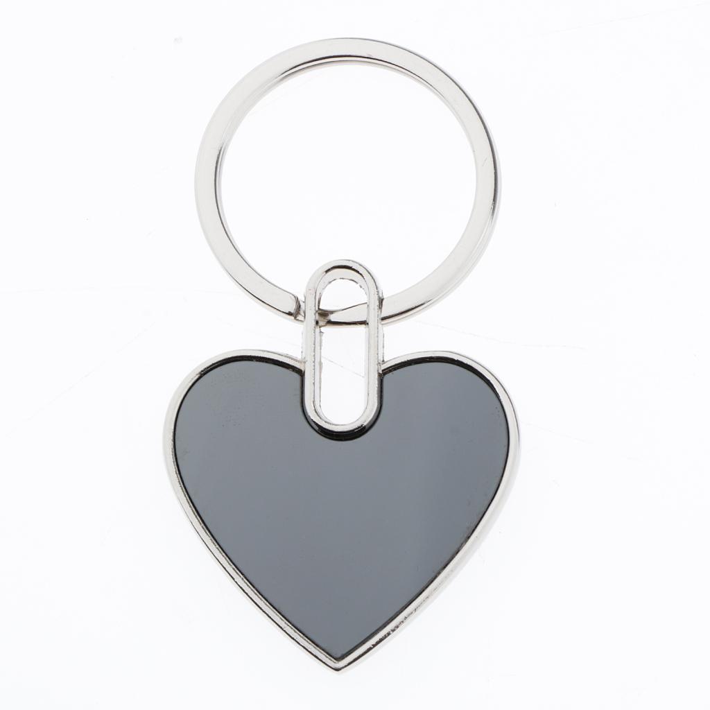 5x-Key-Tags-Blank-ID-Fobs-Metal-Keyrings-Car-Keychain-Key-Ring-w-Split-Rings thumbnail 6