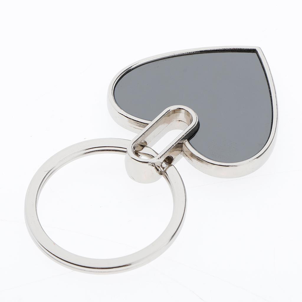 5x-Key-Tags-Blank-ID-Fobs-Metal-Keyrings-Car-Keychain-Key-Ring-w-Split-Rings thumbnail 7