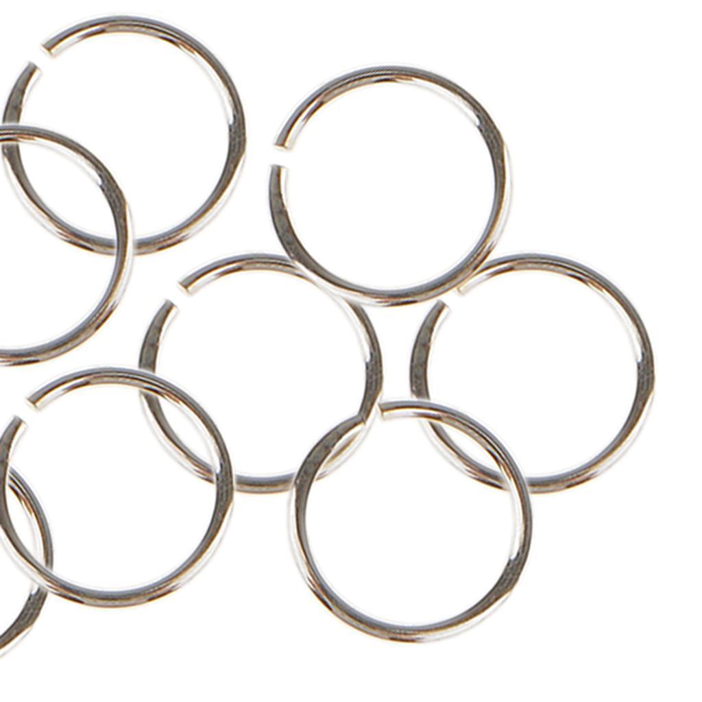 10x-anneaux-de-saut-pour-bijoux-3-4-5-6mm-ouvert-fendu-fermoir-connecteur-925-ar miniature 18