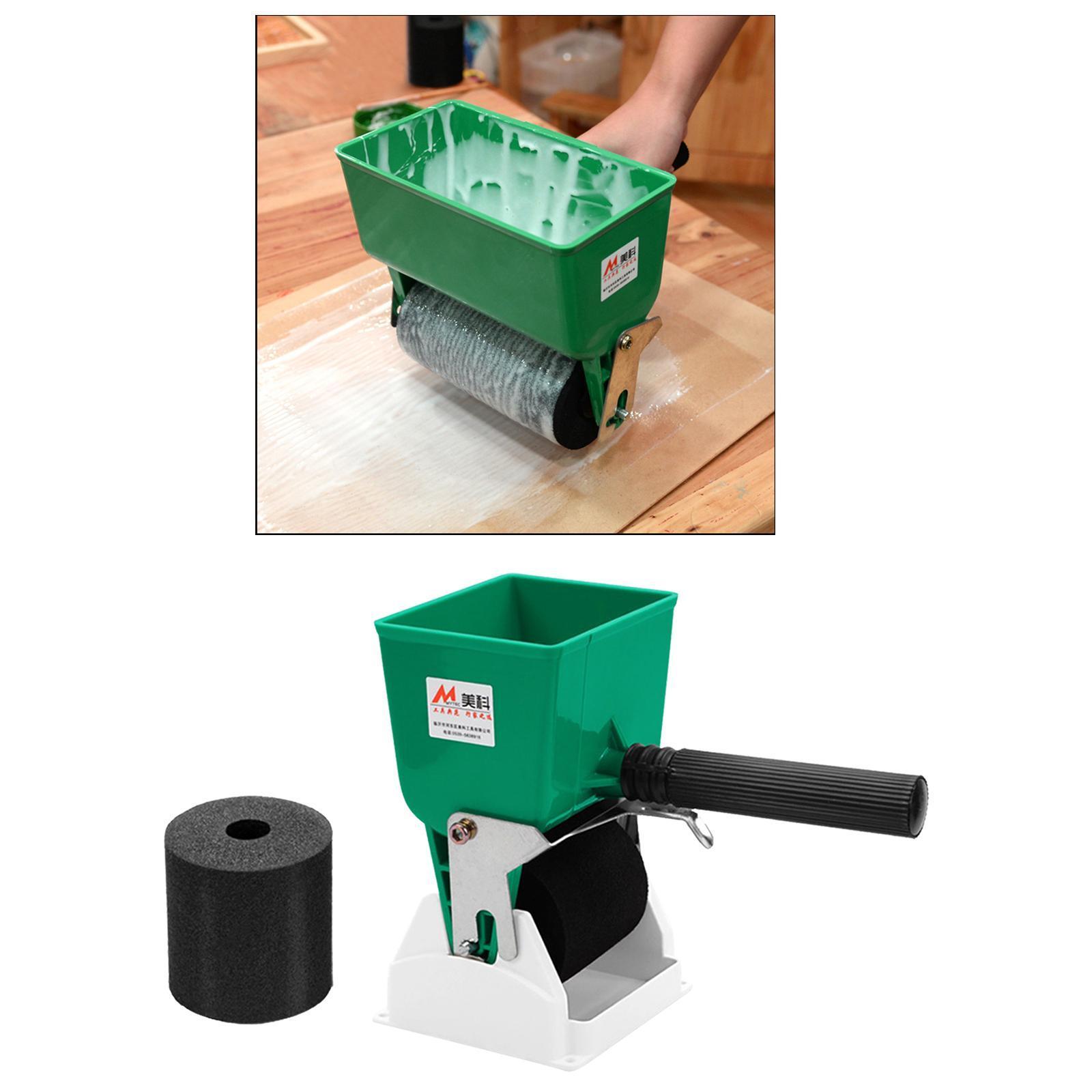 miniatura 16 - 180mL/320mL Portatile Colla Applicatore Rullo Professionale Rivestito Colla