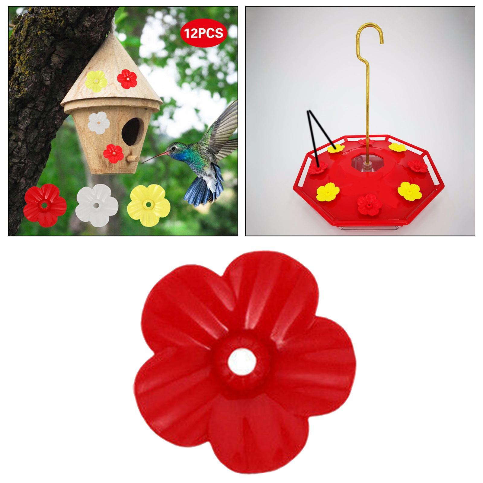 thumbnail 3 - Hanging hummingbird feeder replacement flower, feeding port, parts used supplies