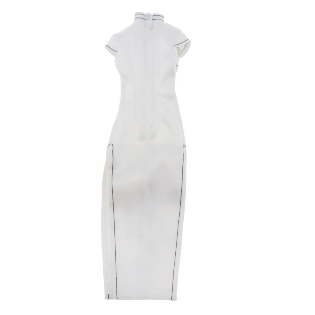 "1//6 Cheongsam Dress Underwear Set WHITE For 12/"" VERYCOOL TBL Female Figure ❶USA❶"