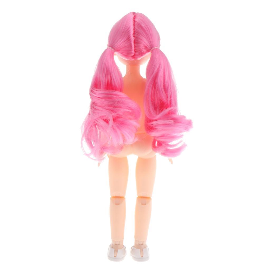 1-6-BJD-Doll-Body-3D-Big-Eyes-White-Skin-Girl-Dolls-Kids-Toys-DIY-Parts thumbnail 7