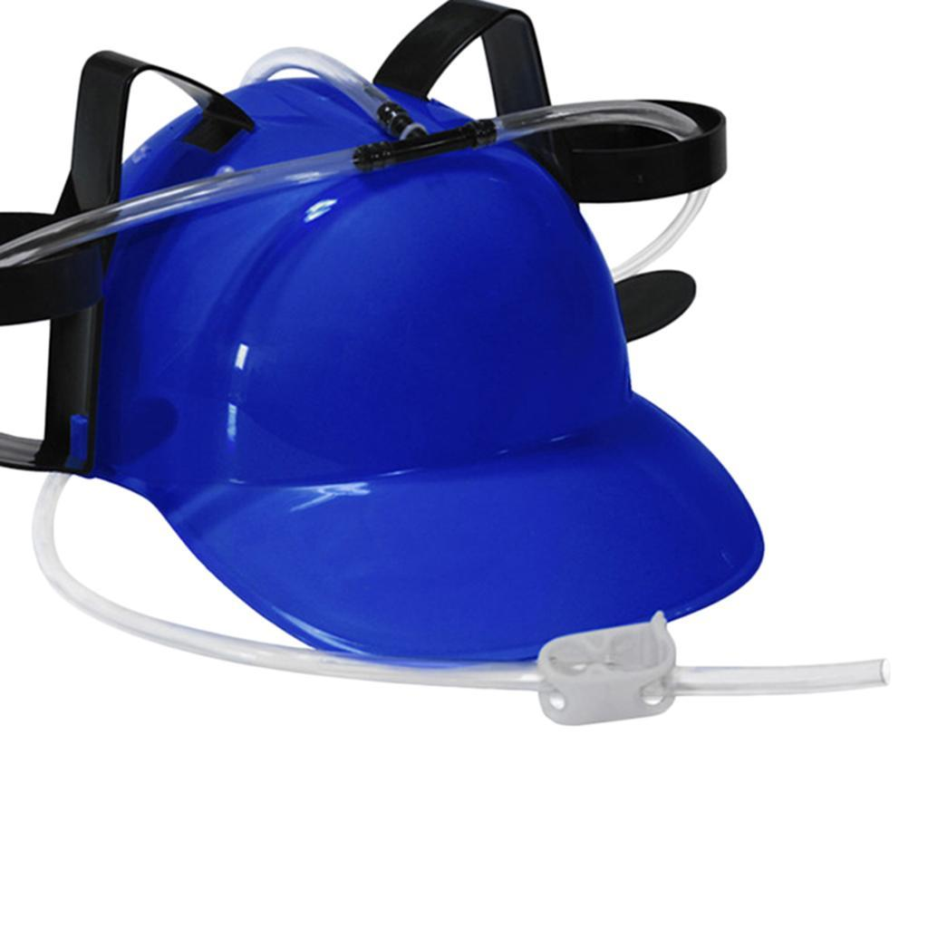 Novelty-Drinking-Helmet-Beer-Hat-Drink-Holder-Cola-Soda-Party-Stag-Do-Game miniature 17