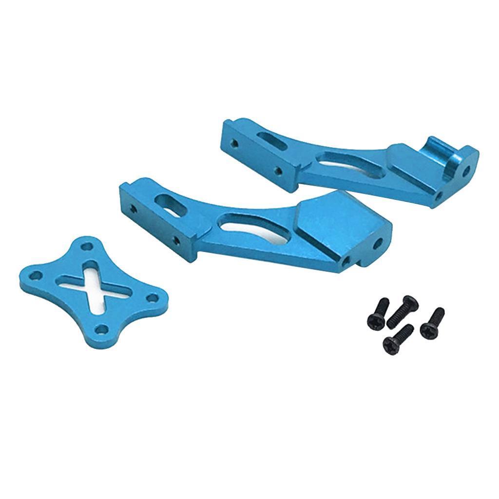 Set-di-parti-fisse-per-coda-in-metallo-per-auto-RC-per-WLTOYS-144001 miniatura 12