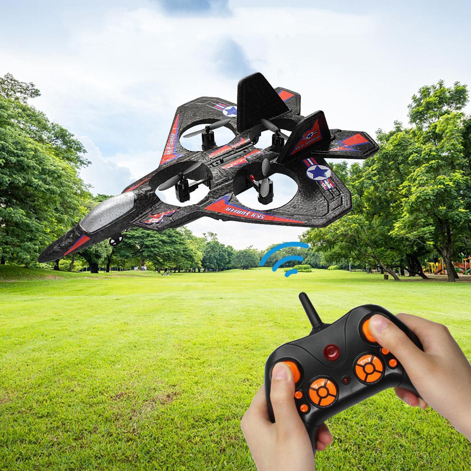 miniatura 6 - A ala fissa telecomando aereo RC aereo aeroplano modello giocattolo per bambini