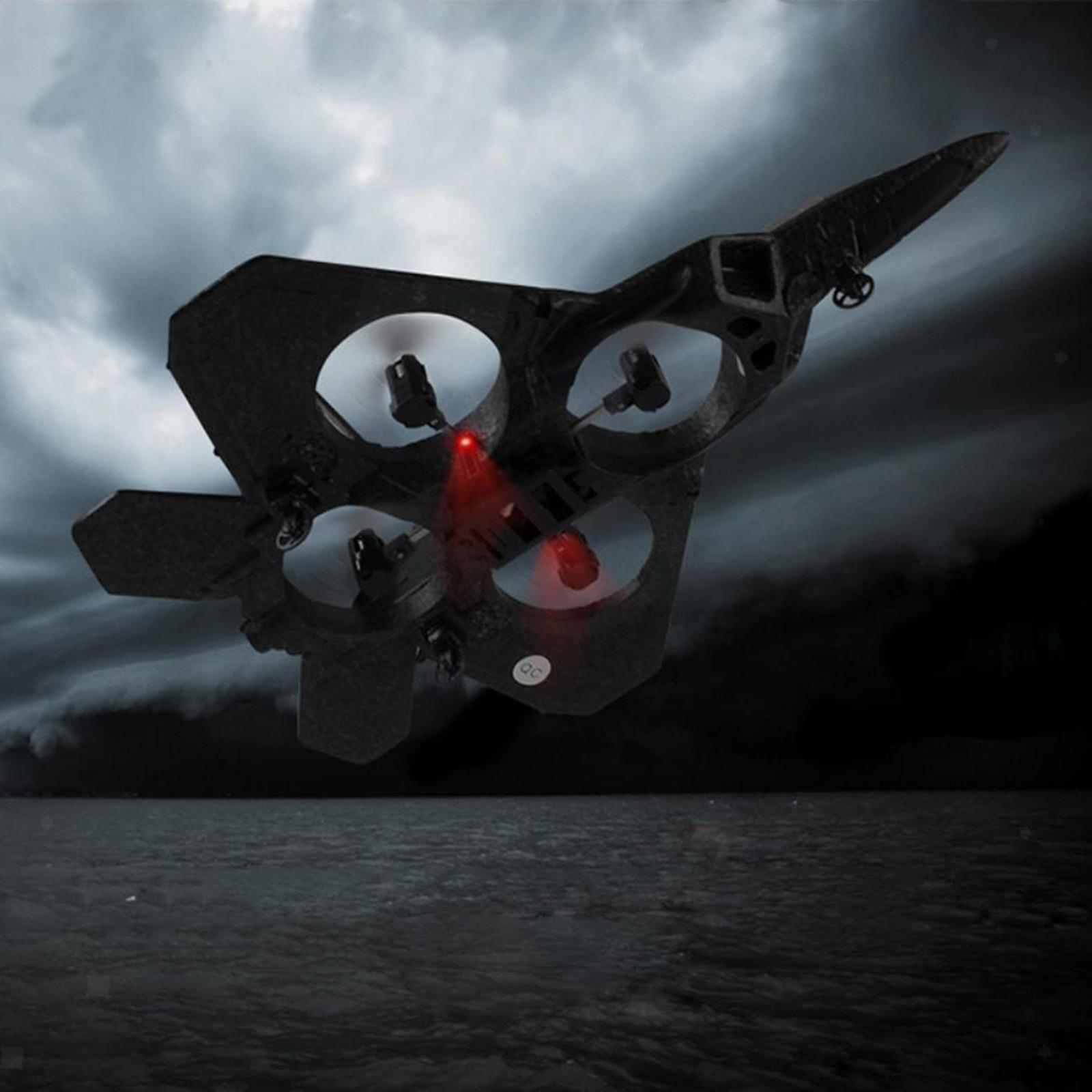 miniatura 21 - A ala fissa 2.4G telecomando aereo RC Aereo Aliante Da Combattimento Modello Giocattolo