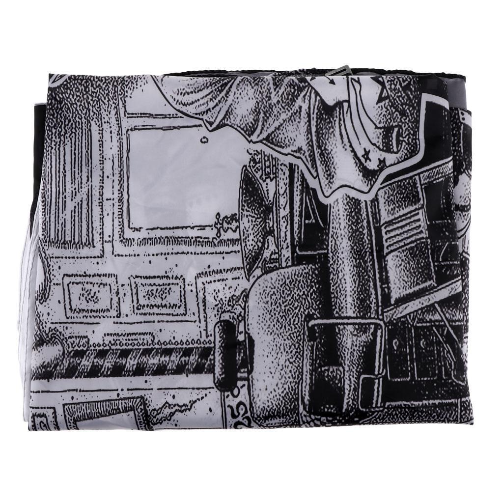 Cape-de-Coiffure-Robe-de-Coupe-de-Cheveux-en-Tissu-pour-Salon-Maison miniature 8