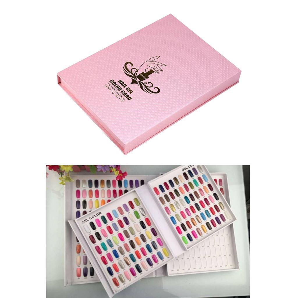 Manicure-di-Arte-Del-120-Smalto-Del-Gel-Carta-di-Colore-Grafico-di miniatura 4