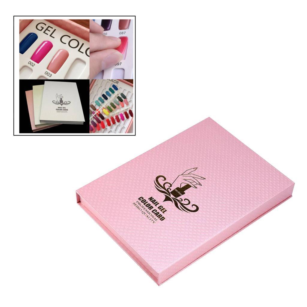 Manicure-di-Arte-Del-120-Smalto-Del-Gel-Carta-di-Colore-Grafico-di miniatura 6