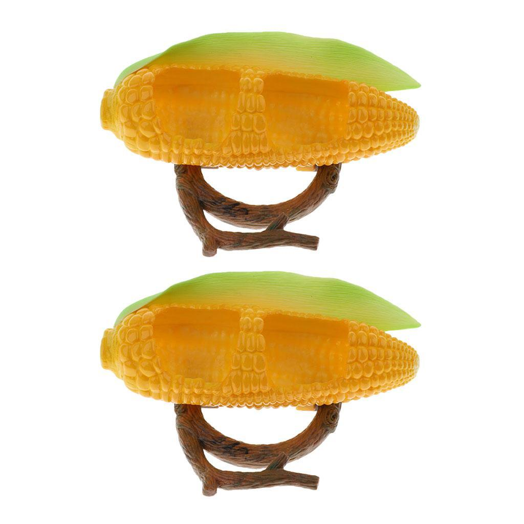 Ciotola-Per-Acqua-Mangiatoia-Per-Uccelli-Accessori-Per-Piccoli-Animali miniatura 4