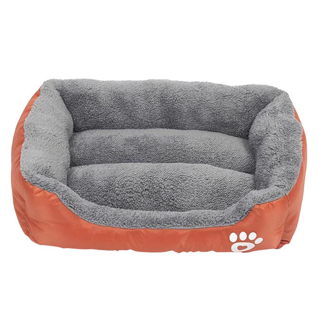 miniature 15 - Chaud chien chat calmant lit doux en peluche sac de couchage pour petits chiens