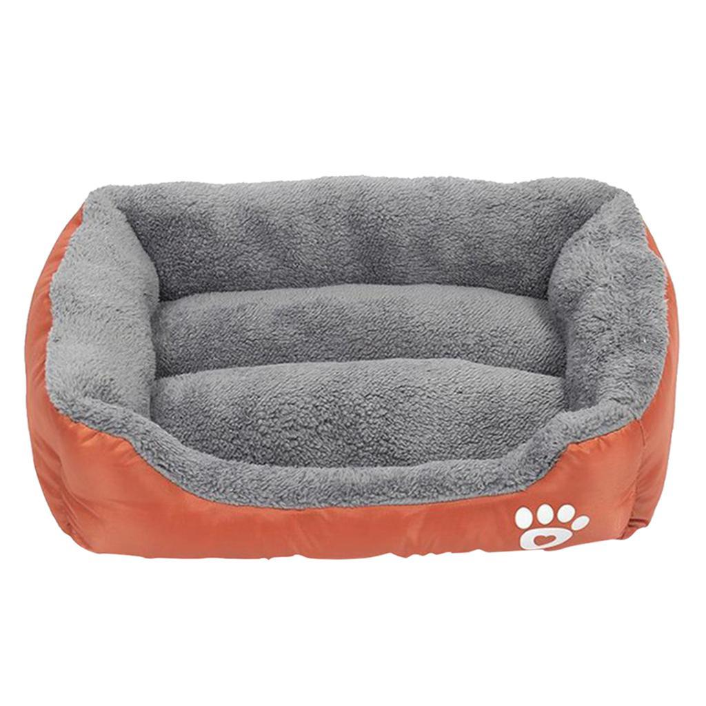 miniature 16 - Doux en peluche lit pour animaux de compagnie chien chat coussin de couchage