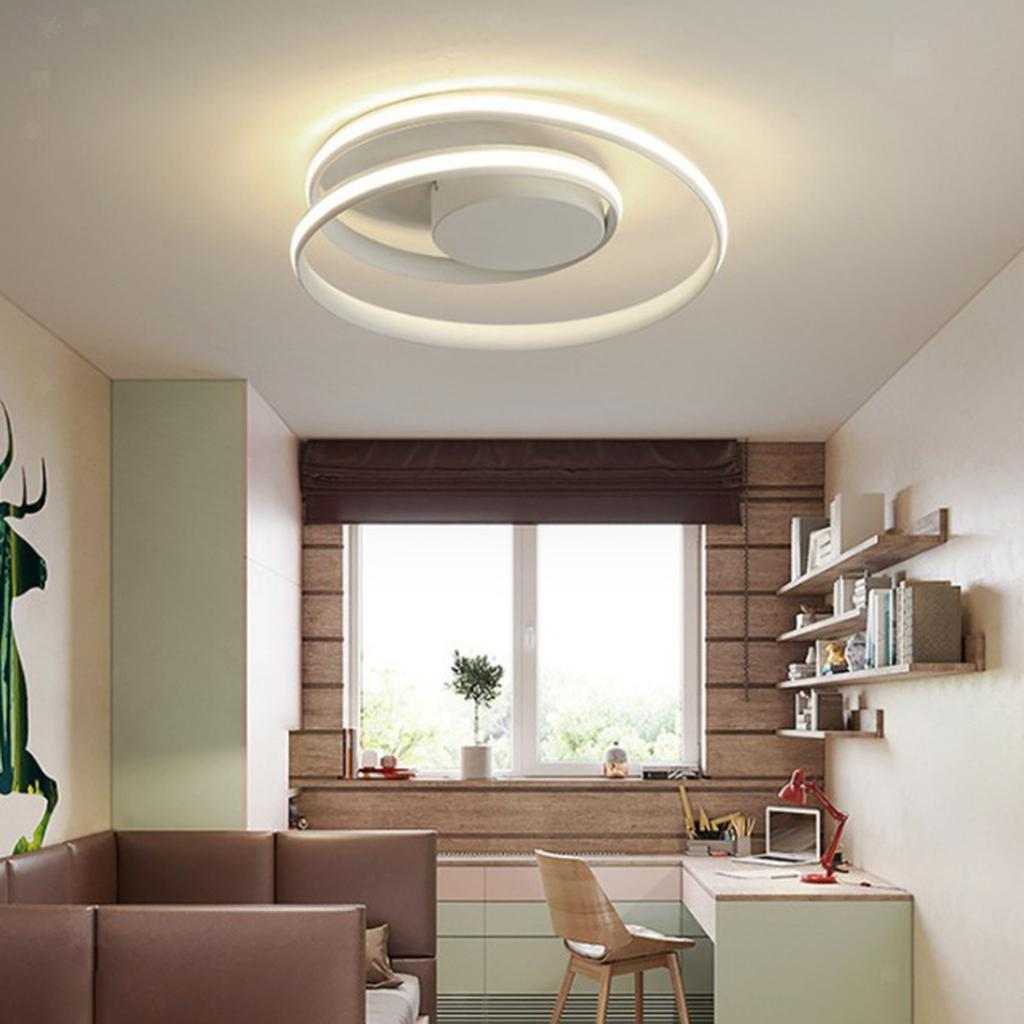 Luce-di-Soffitto-del-LED-di-Controllo-Remoto-Della-Lampada-Soggiorno-Cucina miniatura 12