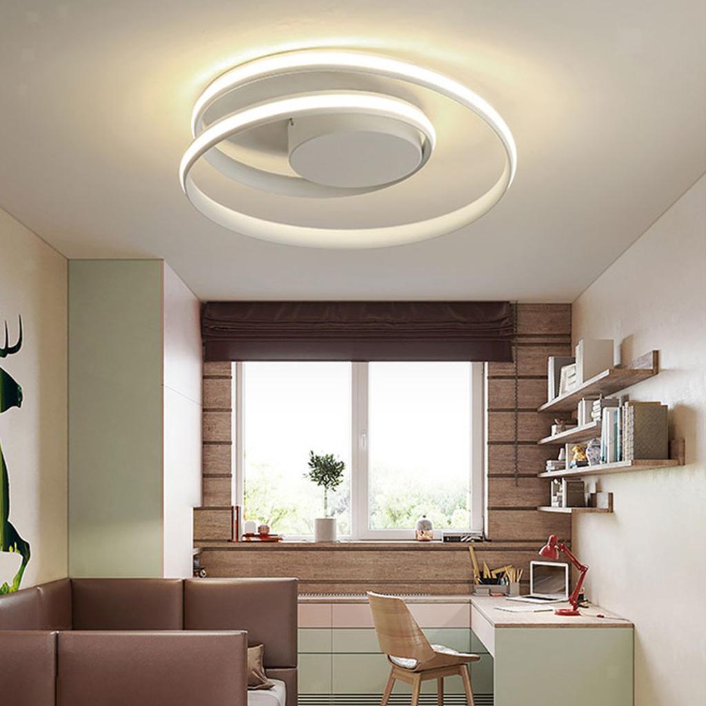 Luce-di-Soffitto-del-LED-di-Controllo-Remoto-Della-Lampada-Soggiorno-Cucina miniatura 14