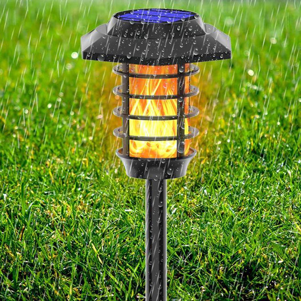 miniatura 4 - Lumieres-de-lampe-de-decor-de-flamme-de-danse-solaire-de-LED-pelouse