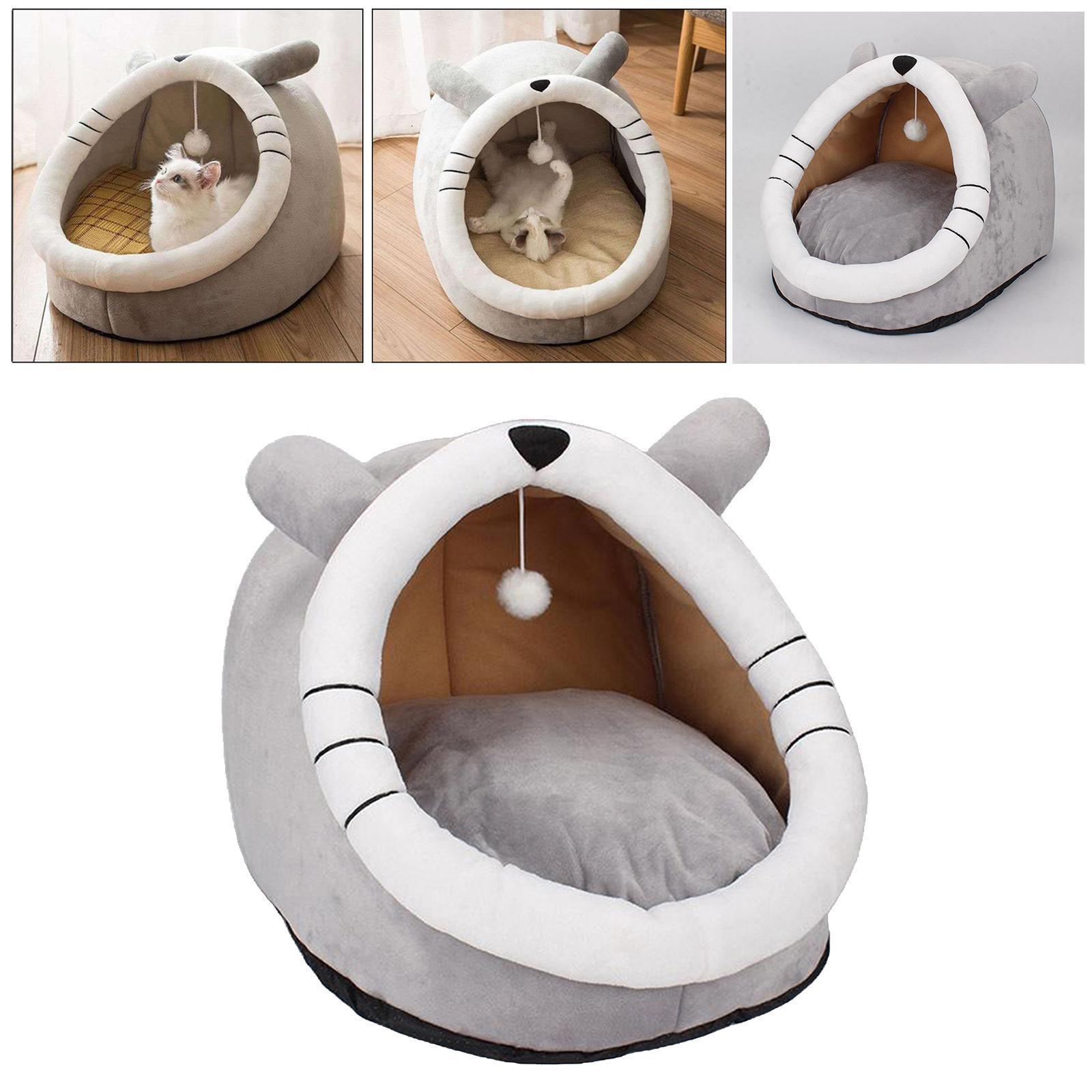Indexbild 6 - Haustier hund katzen haus zwinger zelt mode welpe winter warmes bett haus höhle