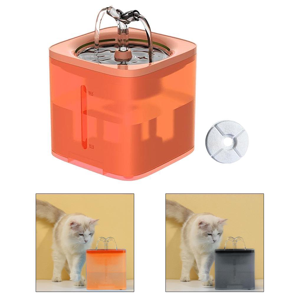 miniature 25 - 2L Chat Électrique Automatique Fontaine D'eau Potable Distributeur Bol USB