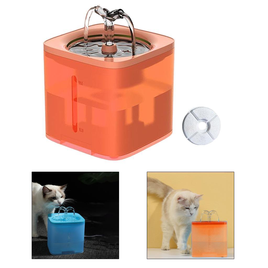 miniature 20 - 2L Chat Électrique Automatique Fontaine D'eau Potable Distributeur Bol USB