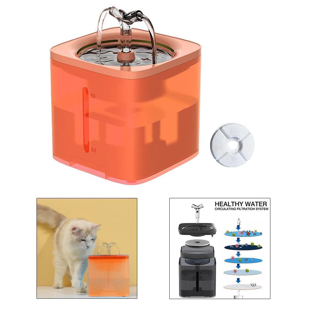 miniature 22 - 2L Chat Électrique Automatique Fontaine D'eau Potable Distributeur Bol USB
