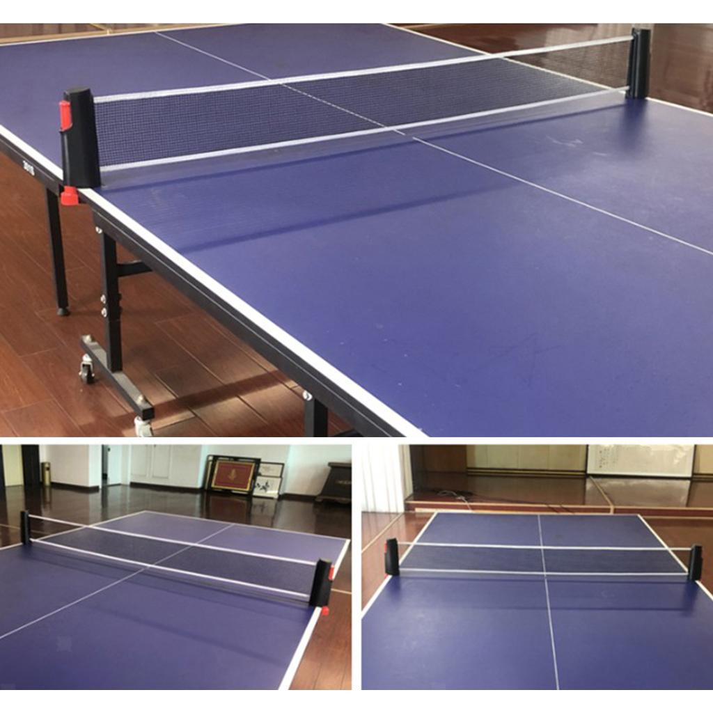 miniature 7 - Einziehbares table tennisnetz Mesh Portable Table tennisnetz Rack Easy Extend