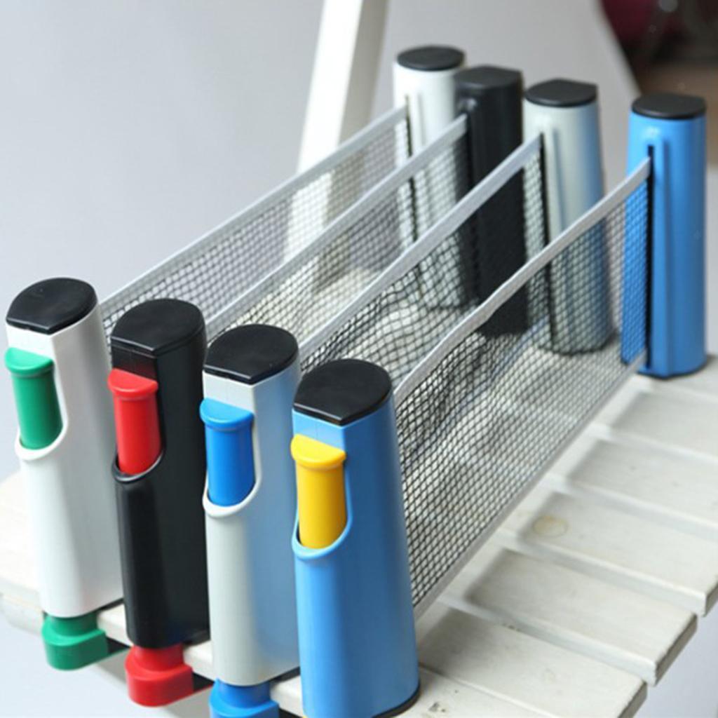 miniature 7 - Simplement einziehbares table tennisnetz Fort Portable Pong Net Rack de rechange