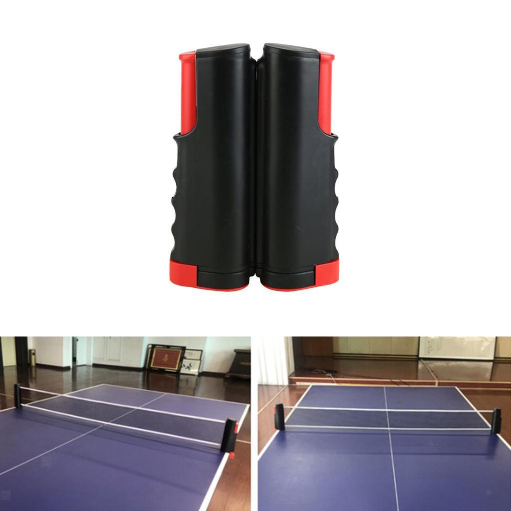 miniature 6 - Simplement einziehbares table tennisnetz Fort Portable Pong Net Rack de rechange