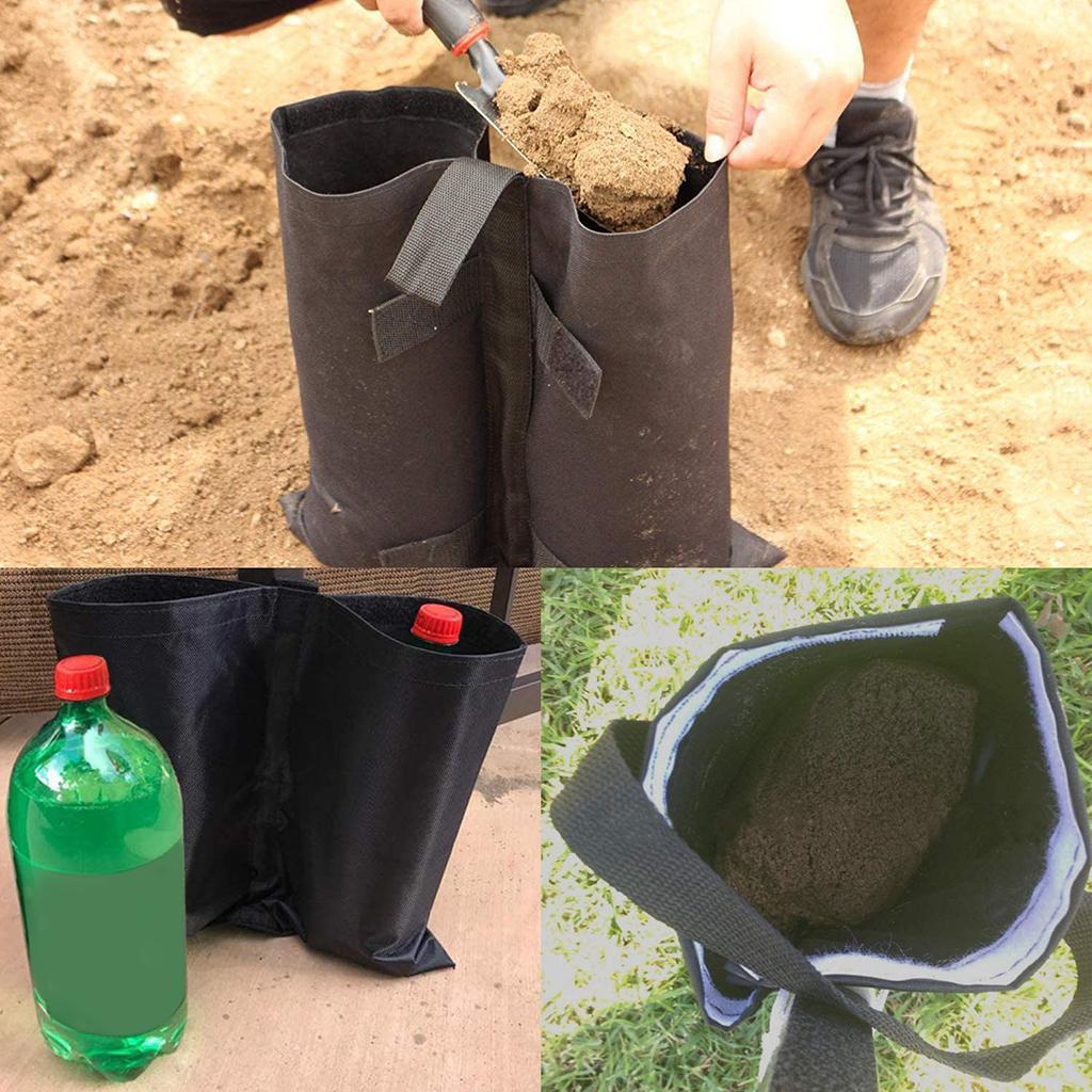 Im-freien-Wasserdichte-Gewicht-Sand-Tasche-fuer-Strand-Pavillon-Baldachin-Zelt Indexbild 10