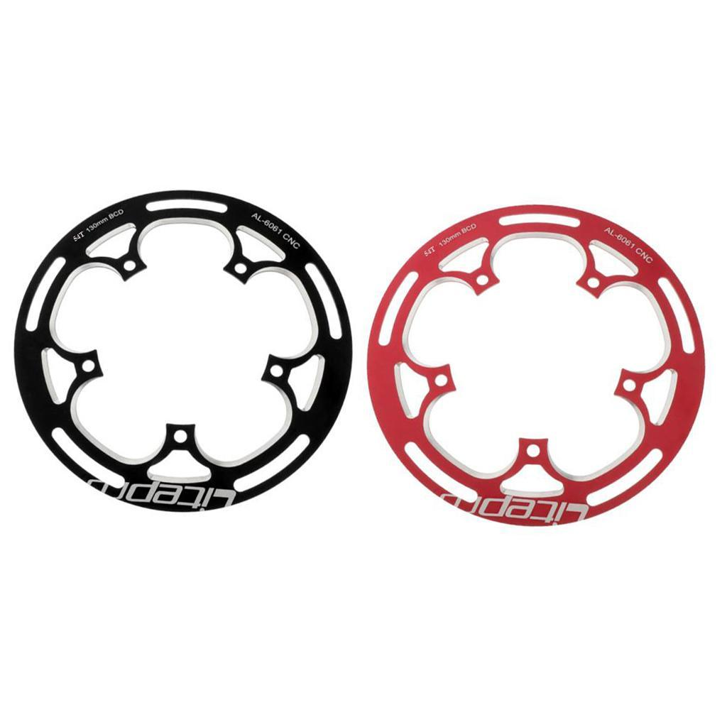 MTB Bike Bicycle Chainring Sprocket Cranksets Guard Protector for 54T BCD 130mm
