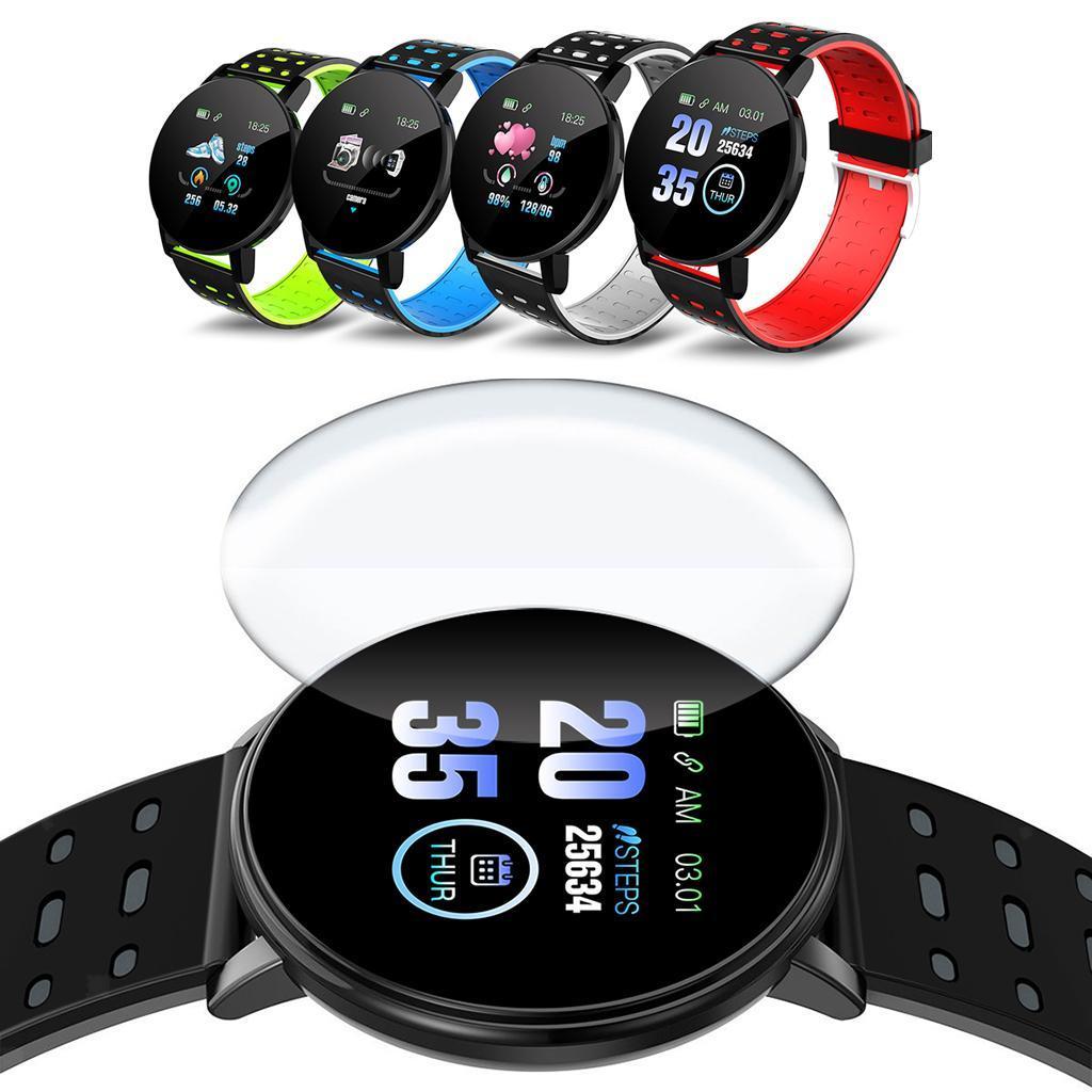 Indexbild 9 - Wasserdichter Bluetooth 4.0 Smart Watch Fitness Tracker Mate für iOS Android
