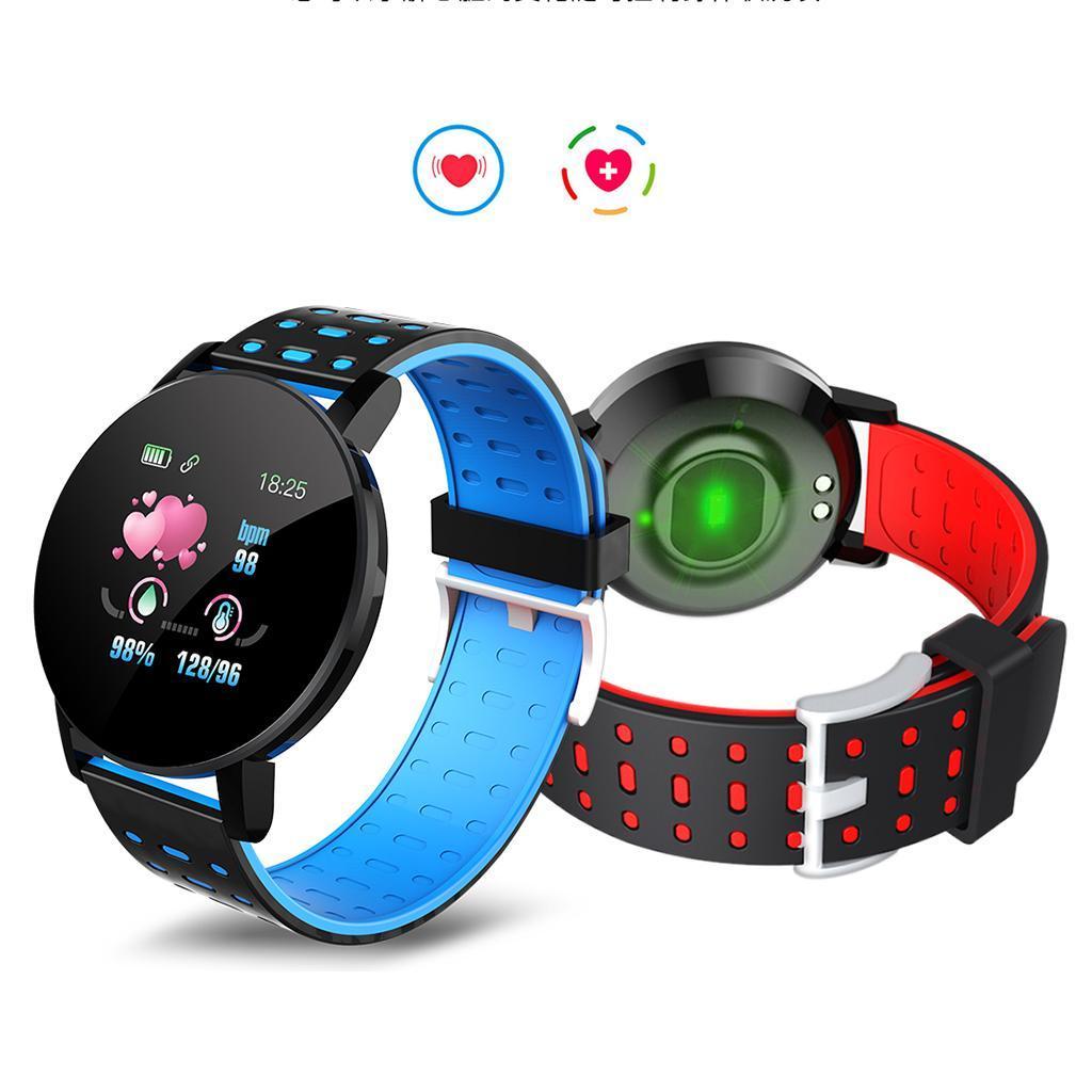 Indexbild 10 - Wasserdichter Bluetooth 4.0 Smart Watch Fitness Tracker Mate für iOS Android