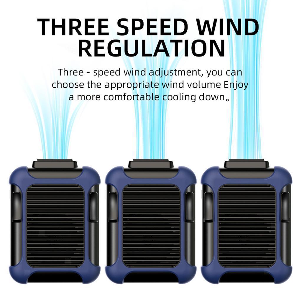5V-USB-Portable-Mini-ventilateur-taille-ventilateur-suspendu-pour-les-Sports-de miniature 20