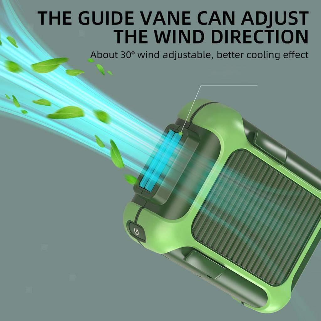 5V-USB-Portable-Mini-ventilateur-taille-ventilateur-suspendu-pour-les-Sports-de miniature 21