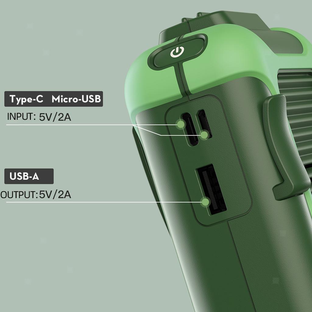5V-USB-Portable-Mini-ventilateur-taille-ventilateur-suspendu-pour-les-Sports-de miniature 23