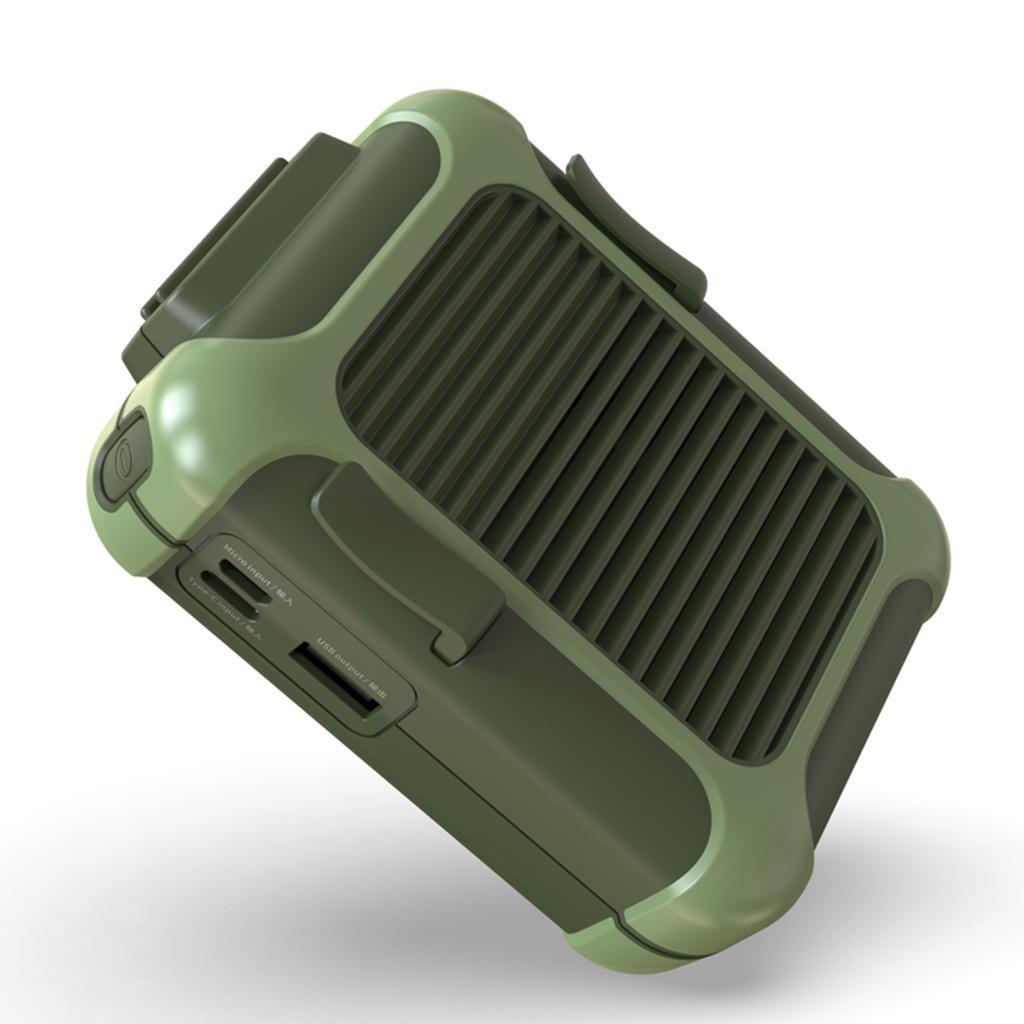 5V-USB-Portable-Mini-ventilateur-taille-ventilateur-suspendu-pour-les-Sports-de miniature 24