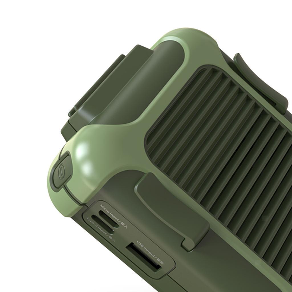 5V-USB-Portable-Mini-ventilateur-taille-ventilateur-suspendu-pour-les-Sports-de miniature 18