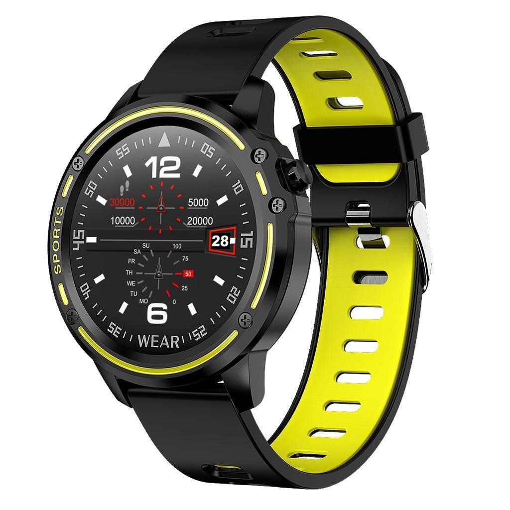 L8 Sport Smartwatch IP68 Impermeabile ECG PPG Misuratore..