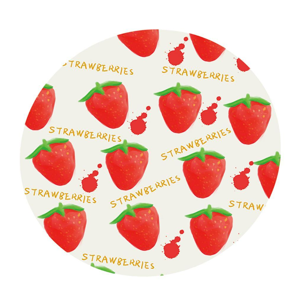 Round-Tablecloth-Table-Cover-Dining-Party-Supplies-1-2m-Dia-Strawberry thumbnail 6